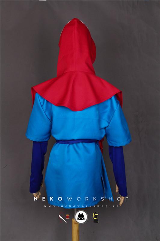 Princess Mononoke - Ashitaka Cosplay Costume - Neko Workshop